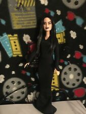 CLEARANCE SALE! Morticia CUSTOM HORROR DOLL The Addams Family OOAK
