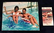 Tatum O'Neal Kristy McNichol signed photo w Proof 8x10 Little Darlings JSA COA