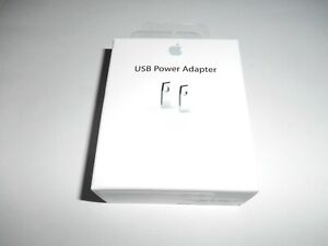 OEM Authentic Apple A1385 Charger 5W USB Power Adapter iPod Touch NEW Fast Ship