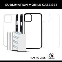 Blank Heat Sublimation Hard Plastic Phone Cases For iPhone 11 Pro Max 10Pcs
