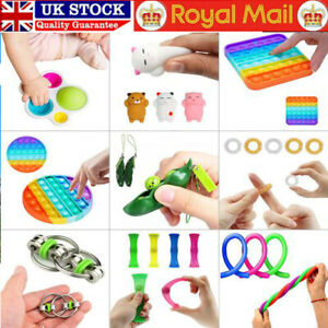 Among Us Push Pop Bubble it Fidget Sensory Toy Stress Relief Kids Toys Tiktok UK