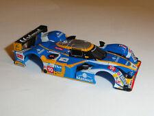 TOMY AFX MEGA G+ PEUGOT 908 MATMUT #10 HO SLOT CAR BODY ONLY NOS FITS 1.7 LONG