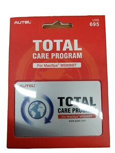 Autel Total Care Program MaxiSys MS906BT 1 YEAR Update FREE WORLDWIDE DELIVERY!