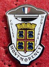 PIN'S GENDARMERIE POLICE MUNICIPALE ECUSSON BLASON VILLE MONTMORENCY