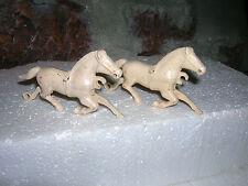 Bonnie Bilt 1950'S Wagon Horses 54Mm Hardy Toy Soldier Playset