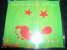 Leonardo's Bride / Abby Dobson Sonic Rare 3 Track CD Single