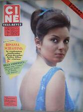 revue cinéma-télé: Ciné Revue: N°6 février 1963