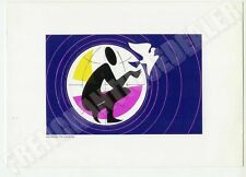 CARTE SERIGRAPHIEE TIMBRE 1983 GEORGES YOLDJOGLOU