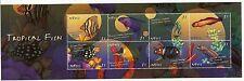 """Nevis - Tropical Fish $16.00 BIG Sheetlets (2), Sc #1193-94 """"MNH"""" - pw6"""