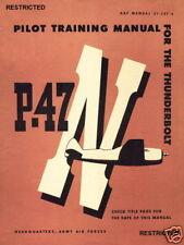 REPUBLIC P-47 THUNDERBOLT  - 2 MANUALS AND A VIDEO