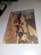 Roy Rogers Comics #120 dell 1957 Photo Cover Comic Book early silver age western