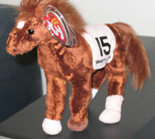 Ty Beanie Baby ~ Smarty Jones the Kentucky Derby Race Horse ~Mint with Mint Tags