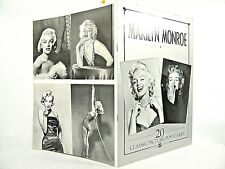 Marilyn Monroe by Seafarer : 20 Classic Picture Postcards 1994, PB 1st VG