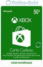 Xbox Live 50 Euro Card - €50 Euro MS Microsoft Xbox 360 / Xbox One Carte - FR