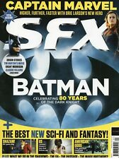 SFX Magazine April 2019: BATMAN Celebrating 80 Years Of The Dark Knight