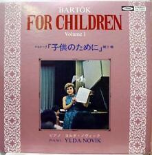 YLDA NOVIK bartok for children vol. 1 LP VG+ TS 7032 Vinyl  Record
