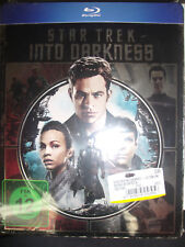 Star Trek Into Darkness Blu-ray Metalpack Steelbook German Region B NEW Sealed