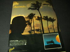 BOBBY CALDWELL Lowdown On A Highbrow Songman 1978 PROMO POSTER AD mint condition