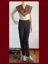 EUC GIORGIO ARMANI Black Label Borgo 21 Gray 100% Wool Pants Trousers~Sz 36/US 2