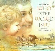 Who is the World For? by Pow, Tom Hardback Book The Cheap Fast Free Post
