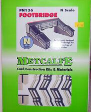 New Metcalfe Footbridge PN136 N Gauge
