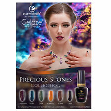Gelaze Poster - Precious Stones Collection - LED Soak Off Gel Polish