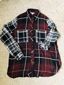 River island Check shirt Size 12