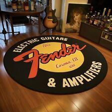 Teppich G Fender Gitarre Antirutsch Für Dekoration Landhaus Biker Rock Moto
