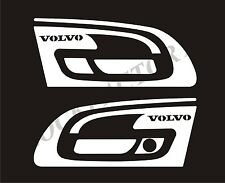 Set of 2 pcs. Handle Doors For New VOLVO FH4 Made of Mirror Stainless Steel