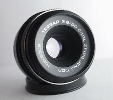 M42 Carl Zeiss Jena Tessar 2.8/50mm Lens  F/2,8 50mm