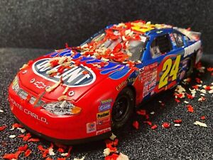 Jeff Gordon 1/24 2001 All Star Race Custom eith confetti!