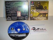 G-POLICE WEAPONS OF JUSTICE CUSTIDIA NON ORIGINALE PLAYSTATION 1 PS1 PSX PS2 PS3