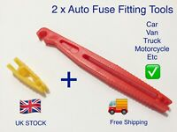 2 x Car Fuse Removal Tool / Extractor , Remove / Insert Fuses  Easy Tools