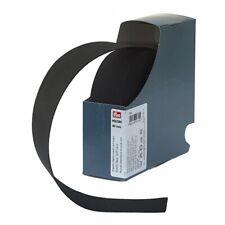 Prym Soft Elastic Tape - Black - Sold Per Metre