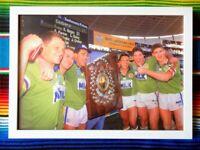 ✺Framed✺ 1994 CANBERRA RAIDERS NRL Premiers Poster - 45cm x 32cm x 3cm