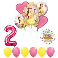 Beauty and The Beast 2nd Birthday Party Balloon supplies decorations