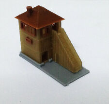 Outland Models Train Railway Layout Wood Style Signal Tower / Watchtower N Scale