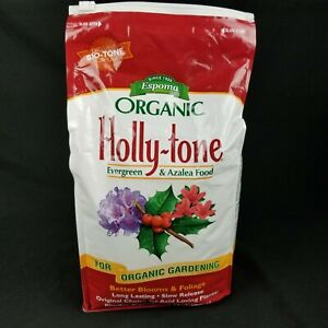 Espoma Holly Tone Plant Food 4 3 4 Granules All Natural Organic 8 Lb Acid Lovers