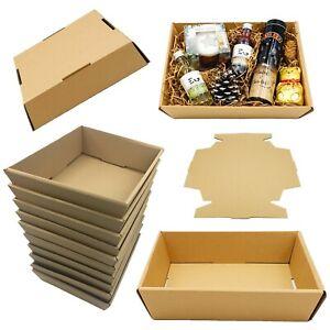 HAMPER GIFT BOXES DIY CHRISTMAS Farmshop Gift Sweet Tray Cardboard Self Assembly