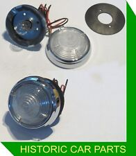 2 FRONT SIDE/INDICATOR LIGHTS for MGA 1500 1489cc 1955-60 replace Lucas L539