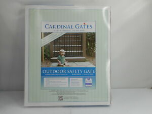 Cardinal Gates SS30OD-BK - Outdoor Safety Gate, Black, 29.5″ Tall