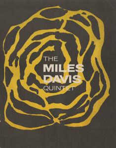 Miles DAVIS & Jimmie COBB: Signed 1960 Great Britain Tour Program