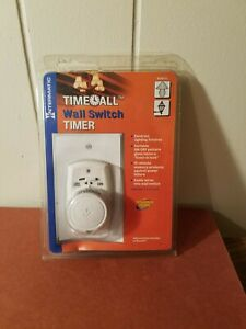 Intermatic Time-All Wall Switch Timer 24 Daily On/Off Settings Model EJ351CL