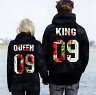 Couple Hoodie-Boy King Girl Queen His and Hers New Design Couple Matching Hoodie