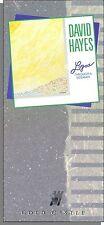 David Hayes - Logos Through a Sideman - New 1989 Long Box CD!