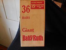 Vintage Curtiss Baby Ruth 36 Bar Box