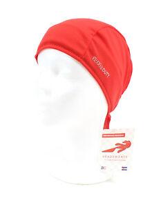 Headsweats Eventure Cycling Running Shorty Head Skull Bandana Cap Hat, Red
