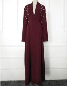 New Dubia Style Abayas Jilbabs Open Front Abayas Casual Burkha