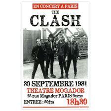 Poster/Affiche cartonné The Clash