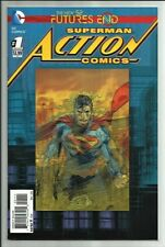 SUPERMAN ACTION COMICS FUTURES END #1 2014 3D LENTICULAR COVER! HUGE SALE! VF-